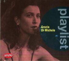 DI MICHELE GRAZIA  - PLAYLIST - BEST -  CD    NUOVO SIGILLATO