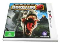 Dinosaurs 3D Combat of Giants Nintendo 3DS 2DS Game  *Complete*