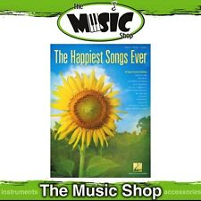 New The Happiest Songs Ever PVG Music Book - Piano Vocal Guitar