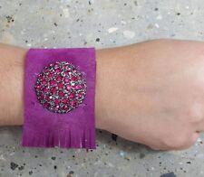 Bracelet color Purple Brand Deyanira | Brazalete de color Morado Marca Deyanira