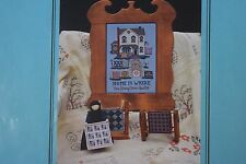 Linda Myers Home is Where You Hang Your Quilts #54 Cross Stitch Char