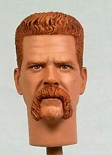 1:6 Custom Head of Michael Cudlitz as Abraham Ford  from The walking Dead