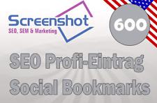 📒 600 Einträge in Social Bookmarks  ⭐Profi-Eintrag vom SEO  📈Backlinkaufbau