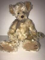 "Russ Claridge Teddy Bear Brown New Stuffed animal Plush 100th Anniversary 15"""