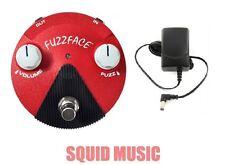 Jim Dunlop Jimi Hendrix Band of Gypsys Mini Fuzz Face FFM6 ( FREE ADAPTER )