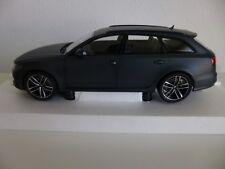 1:18 Audi A6 RS6 Avant Mattgrau Minichamps Neu Unbespielt OVP