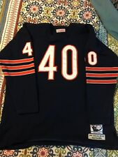 Authentic Early Mitchell And Ness Gale Sayers Chicago Bears Jersey RARE 52