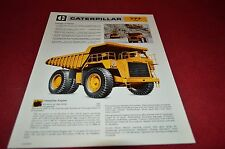 Caterpillar 777 Rock Haul Truck Dealer's Brochure DCPA4 ver2