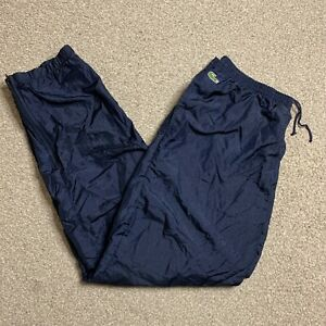 Lacoste Chemise Vintage Tracksuit Bottoms Windbreaker Shell Track Pants Retro XL
