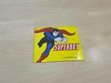 "1978 DC Comics Superboy Sticker 3.5"" x 3.5"""