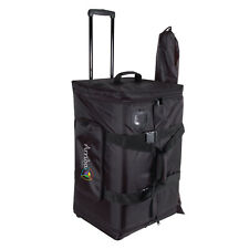 Arriba AS-175 Rolling Speaker PA Bag and Stand Tripod Bag Combo