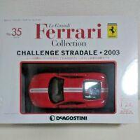 DeAgostini CHALLENGE STRADALE 2003 1/24 #35 Le Grandi Ferrari Collection Japan