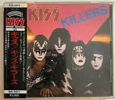 Kiss ‎– Killers CD Japan Casablanca ‎– P33C-20012 Burrnin' Collection – 10 VG++