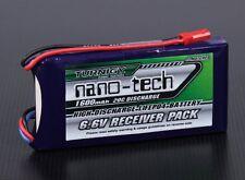 RC Turnigy nano-tech 1600mAh 2S1P 20~40C LiFePo4 Receiver Pack