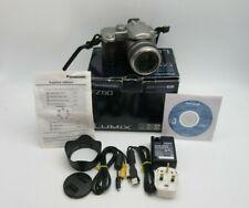 Cámara Digital Panasonic Silver Lumix DMC-FZ50 35-420m en caja