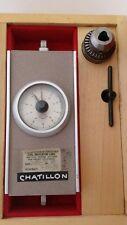 Chatillon Tg 160 Rp Torque Gauge With Wood Box Amp Supreme Chuck Model No 1j