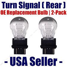 Rear Turn Signal/Blinker Light Bulb 2 pack - Fits Listed GMC Vehicles 3057