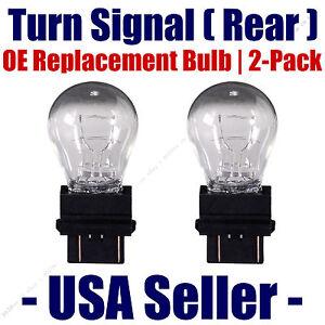 Rear Turn Signal/Blinker Light Bulb 2 pack - Fits Listed Isuzu Vehicles 3057