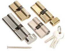 5x Knaufzylinder 90mm 45//45 25 Schlüssel Tür Zylinder Schloss gleichschliessend