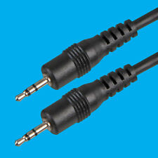 1M 2.5mm to 2.5mm Stereo Plug Audio Jack AUX Cable Lead PC TV HIFI Sound Speaker