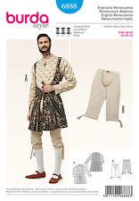 burda Schnitt 6888 Historisches Kostüm: Jacke – Kniebundhose  Gr. 46 - 60