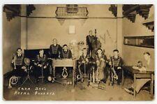 RPPC Kara Bros Royal Hussars Musicians Band NEW BRUNSWICK NJ Real Photo Postcard