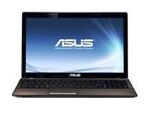 """Asus K53U-RBR5 Laptop AMD E350 4GB 640GB DVD-RW 15.6"""" HD LED Windows 10 HDMI"""