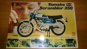 Revell Yamaha Motor Co., Ltd. Yamaha Scrambler 350 1/8 Model Kit #15364