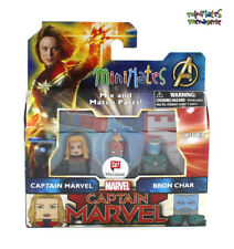 Marvel Minimates Walgreens Captain Marvel Movie Captain Marvel & Bron Char