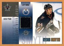 2002-03 , PACIFIC , VANGUARD , RYAN SMYTH , CARD #20 , JERSEY , /760