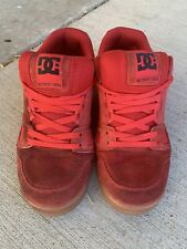 DC Men Shoes Stag 2 ADYS100223 Skateboard Red 10.5