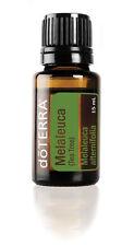 doTERRA Tea Tree Essential Oil 15ml + Bonus 5ml Roller Bottle & Nasal Inhaler