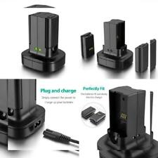 For Xbox 360 2 Pack Rechargeable Battery with Dual Charging Station...