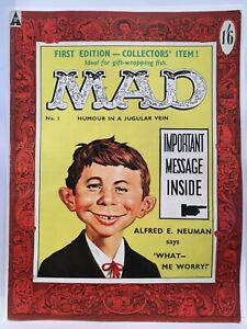 Mad Magazine #1 UK Edition FN (6.0)