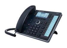 AudioCodes 440HD SIP IP Phone VoIP PoE phone 6 lines SIP SDP LCD