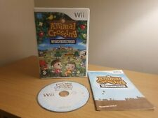 Animal Crossing Let's Go to the City Nintendo Wii Game - COMPLETE WITH MANUAL
