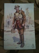 Military Postcard 1st Hertfordshire Regiment 37th Ypres 1917 by Alix Baker