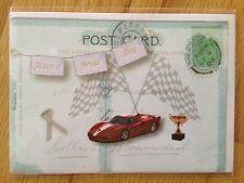 Tarjeta de Nota en Blanco coche todos ocasión aniversario de cumpleaños gracias Postal * Nuevo * 178