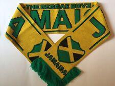 JAMAICA Football Scarf made with soft luxury acrylic yarns NEW