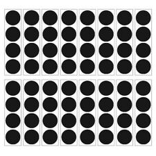 Black Matte Polka Dots 64 Wall Decals Room Decor Stickers Confetti Party Wpd