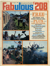 Weekly August Fabulous 208 Music, Dance & Theatre Magazines