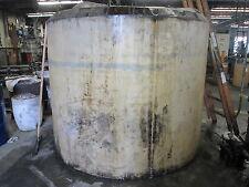"Tanks Ltd 1500 Gal Max Capacity 7 Ft Diameter 74"" Tall Poly Liquid Tank"
