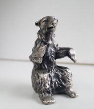 WHOLESALE...Pewter Sitting Bear (Lot of 5)