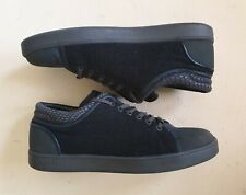 CRUYFF CLASSIC TRAINERS BLACK SUEDE AND RUBBER SIZE UK 8 EU 42 RRP £90 MINT