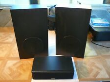 Cambridge Soundworks Ensemble speakers (2 subwoofers + center channel) tested Ok