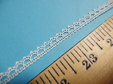 """FRENCH 100% COTTON LACE~1/4""""~OFF WHITE~TINY DOLL TRIM~HEIRLOOM SEWING~LACE S"""