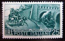 ITALY 1956 Train & Horses SG931 U/M NC806