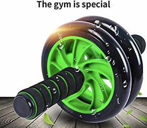 Abdominal Ab Roller Wheel Workout Gym Exercise Fitness Training Abs Knee Pad New