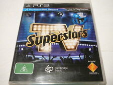 TV Superstars - Ps3 Postage Trusted Local SELLER