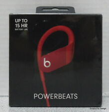 *NEW SEALED* Beats by Dr Dre PowerBeats 4 A2015 MWNX2LL/A Earphones, Red